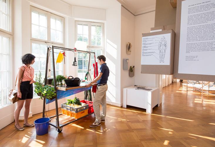Ausstellung - Warum Ecodesign? - Hinterhofküche